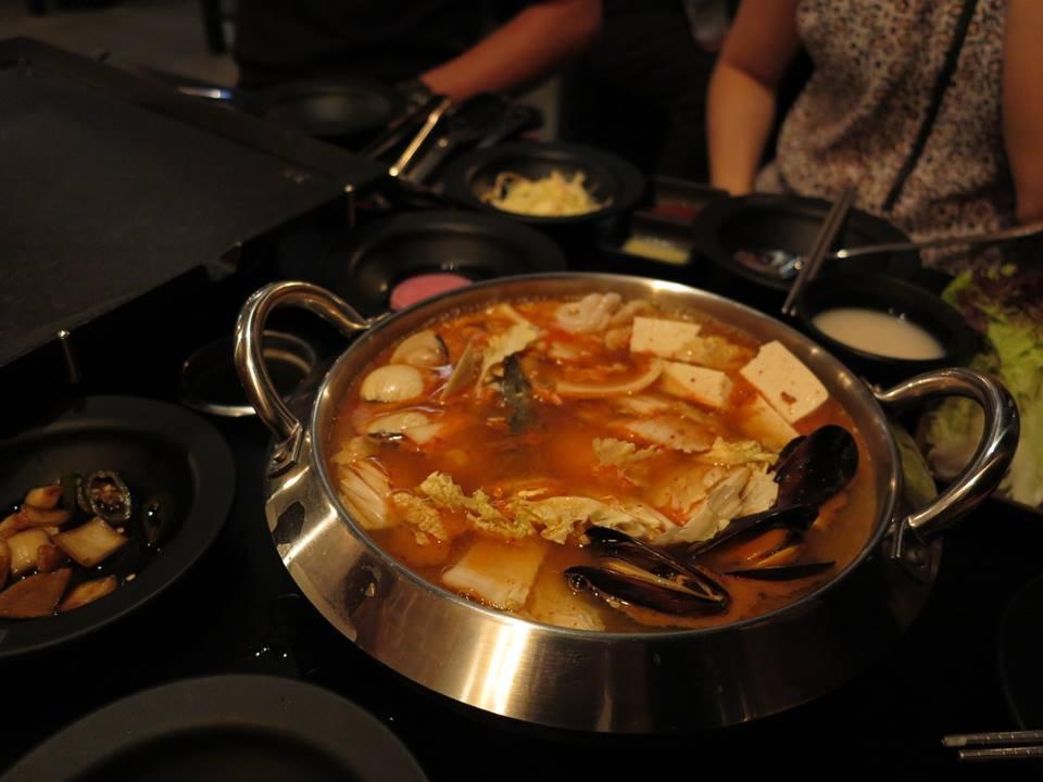 Savoury Kim Chi Soup